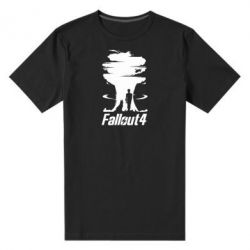 Мужская стрейчевая футболка Fallout 4 Art - FatLine