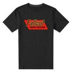 Мужская стрейчевая футболка Fallout New Vegas - FatLine