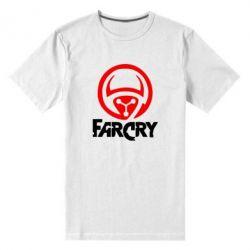 Мужская стрейчевая футболка FarCry LOgo - FatLine