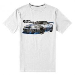 Мужская стрейчевая футболка Fast and Furious - FatLine