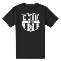 Мужская стрейчевая футболка FC Barcelona