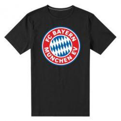 Мужская стрейчевая футболка FC Bayern Munchen - FatLine