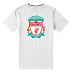 Мужская стрейчевая футболка FC Liverpool - FatLine