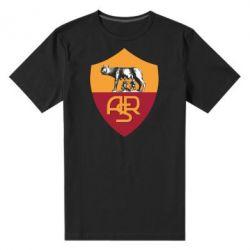 Мужская стрейчевая футболка FC Roma - FatLine