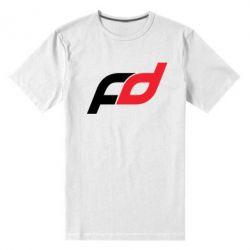 Мужская стрейчевая футболка FD - FatLine