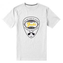 Мужская стрейчевая футболка Fender - FatLine