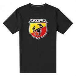 Мужская стрейчевая футболка FIAT Abarth - FatLine