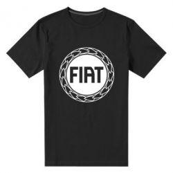Мужская стрейчевая футболка Fiat logo - FatLine