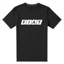 Мужская стрейчевая футболка Fiat - FatLine