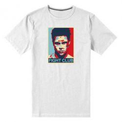 Мужская стрейчевая футболка Fight Club Tyler Durden - FatLine