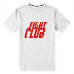 Мужская стрейчевая футболка Fight Club - FatLine
