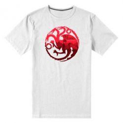 Мужская стрейчевая футболка Fire and Blood
