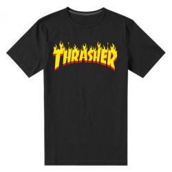 Мужская стрейчевая футболка Fire Thrasher - FatLine