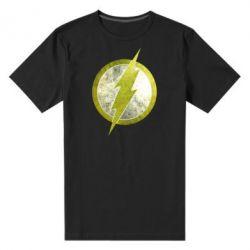 Мужская стрейчевая футболка Flash Logo - FatLine