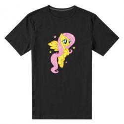 Чоловіча стрейчова футболка Fluttershy - FatLine