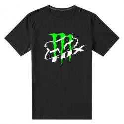 Мужская стрейчевая футболка Фокс Енерджи - FatLine