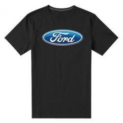 Мужская стрейчевая футболка Ford 3D Logo - FatLine