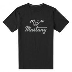 Мужская стрейчевая футболка Ford Mustang