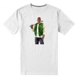 Мужская стрейчевая футболка Franklin Clinton - FatLine