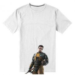 Мужская стрейчевая футболка Freeman - FatLine