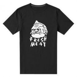 Мужская стрейчевая футболка Fresh Meat Pudge - FatLine
