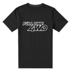 Мужская стрейчевая футболка Full time 4wd - FatLine