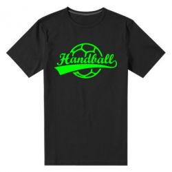 Чоловіча стрейчева футболка Гандбол Лого