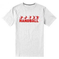 Мужская стрейчевая футболка Гандболисты