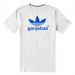 Мужская стрейчевая футболка Ganjubas - FatLine