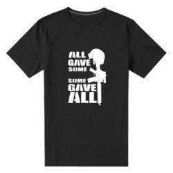 Мужская стрейчевая футболка Gave All