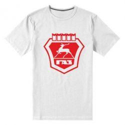 Мужская стрейчевая футболка ГАЗ - FatLine