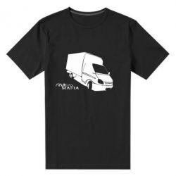 Мужская стрейчевая футболка Газель Мафия - FatLine