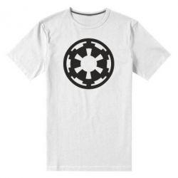 Мужская стрейчевая футболка Герб Империи - FatLine