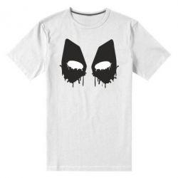 Мужская стрейчевая футболка Глаза Deadpool - FatLine
