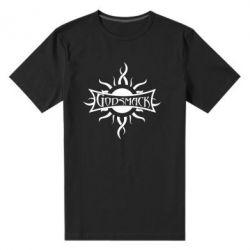 Мужская стрейчевая футболка Godsmack - FatLine