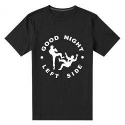 Мужская стрейчевая футболка Good Night - FatLine