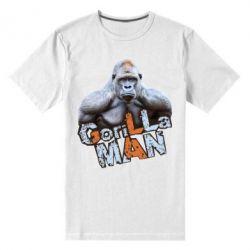 Мужская стрейчевая футболка Горилла MAN