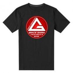 Мужская стрейчевая футболка Gracie Barra Miami - FatLine