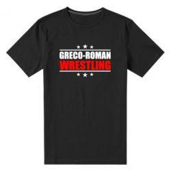 Мужская стрейчевая футболка Greco-Roman Wrestling - FatLine