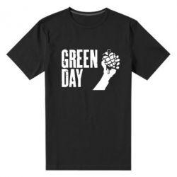 Мужская стрейчевая футболка Green Day American Idiot - FatLine