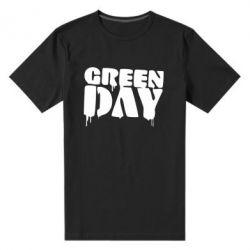 Мужская стрейчевая футболка Green Day