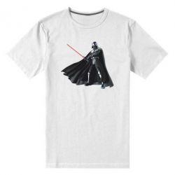 Мужская стрейчевая футболка Грозный Дарт Вейдер - FatLine