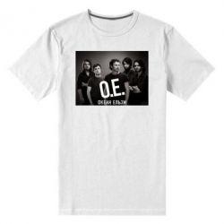 Мужская стрейчевая футболка Группа Океан Ельзы - FatLine