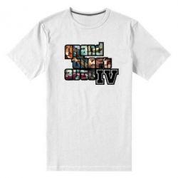 Мужская стрейчевая футболка GTA V - FatLine