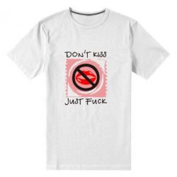 Мужская стрейчевая футболка губки - FatLine
