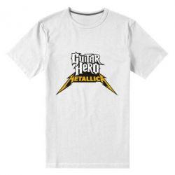 Мужская стрейчевая футболка Guitar Hero Metallica - FatLine