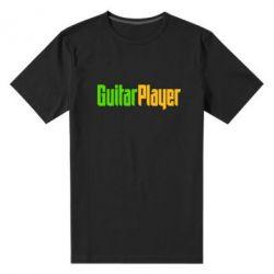 Мужская стрейчевая футболка Guitar Player - FatLine
