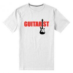 Мужская стрейчевая футболка Guitarist - FatLine