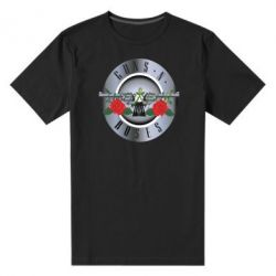 Мужская стрейчевая футболка Guns n' Roses - FatLine
