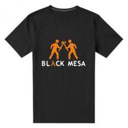 Мужская стрейчевая футболка Half Life Black Mesa - FatLine